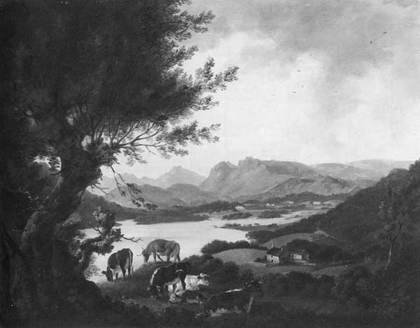 A view on lake windermere, looking towards ambleside